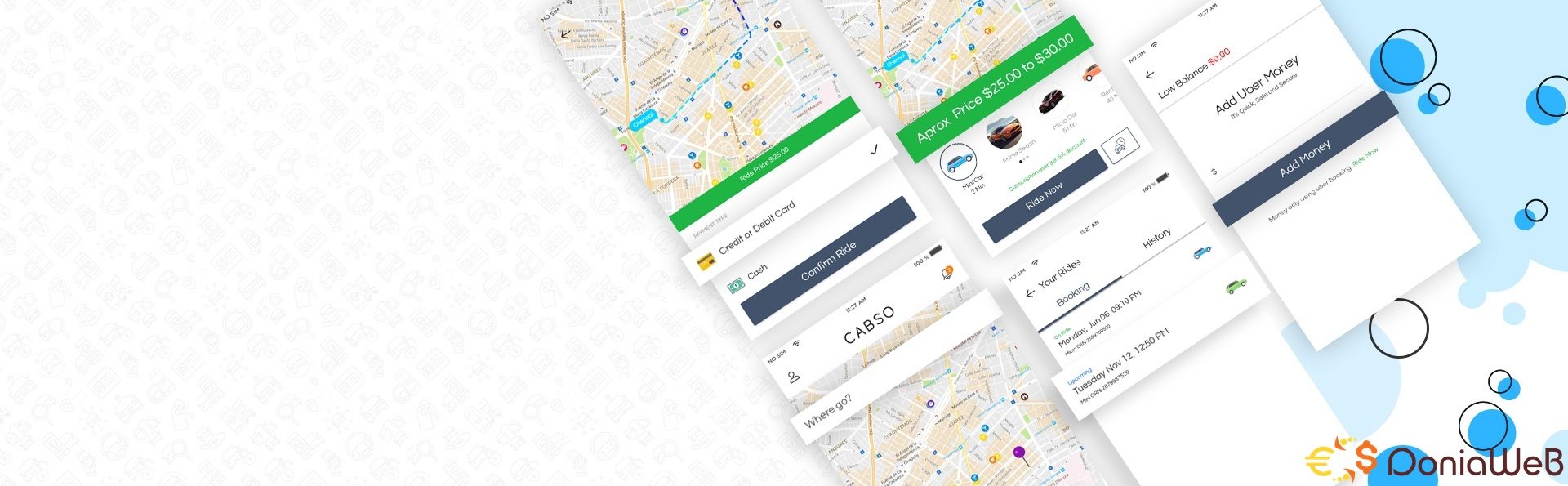 Uber Clone – Taxi Booking Script - Appkodes Cabso v1.0