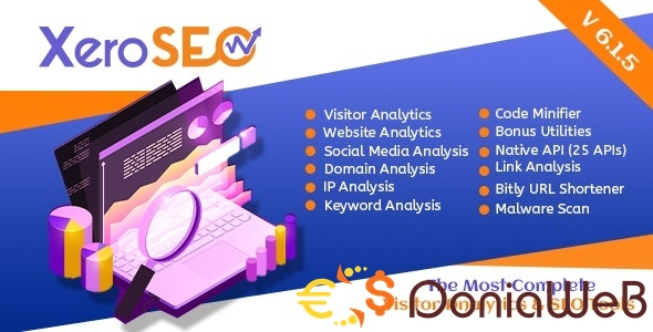 XeroSEO v6.1.5 - The Most Complete Visitor Analytics & SEO Tools