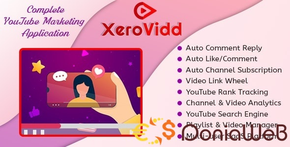 XeroVidd - Complete YouTube Marketing Application (SaaS Platform)