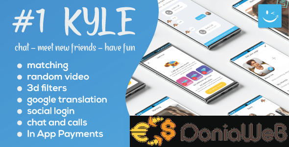 Kyle v23.0 - Premium Random Video & Dating and Matching [Extended License]