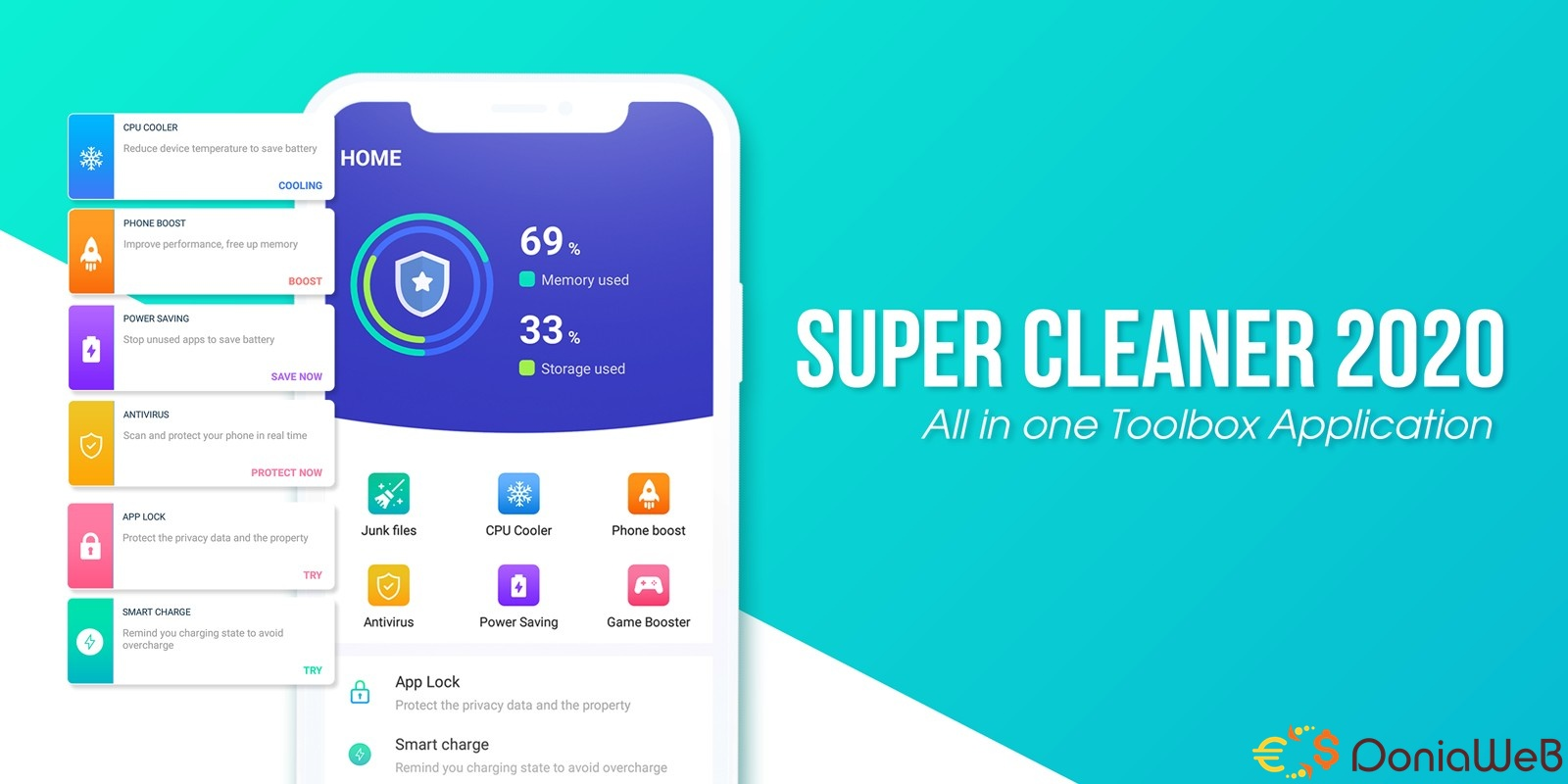 Super Cleaner - Android Source Code