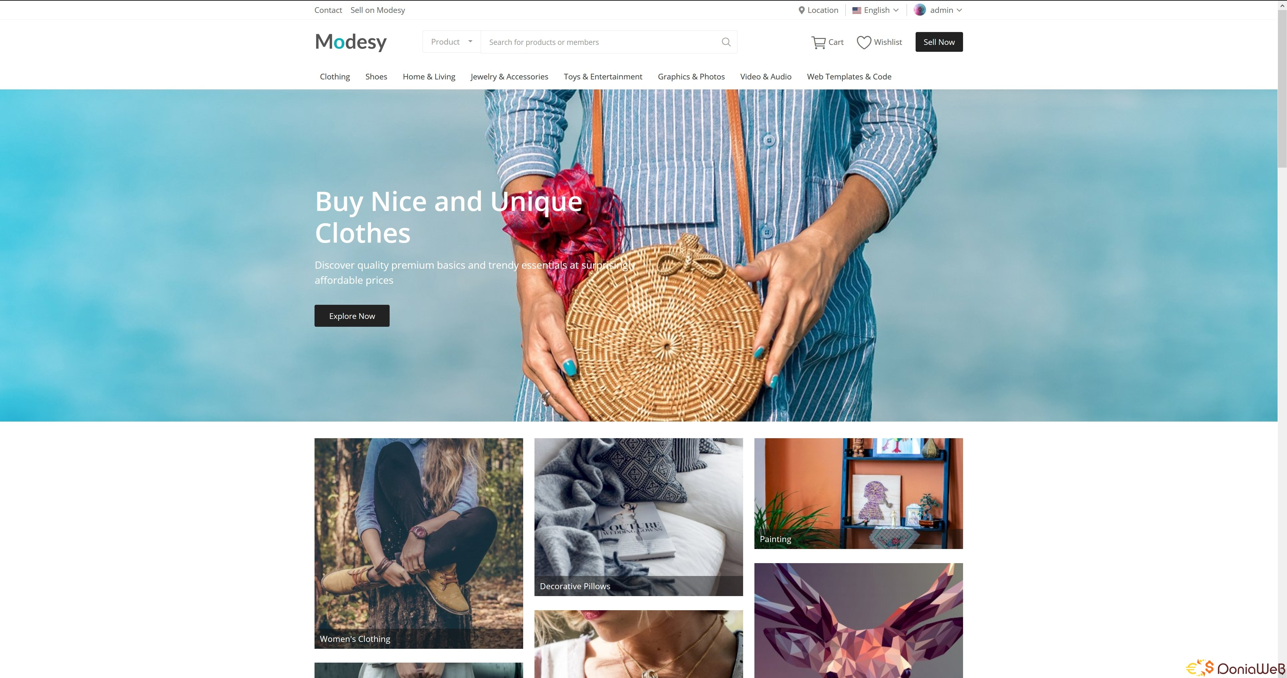 Modesy v1.7.1 - Marketplace & Classified Ads Script